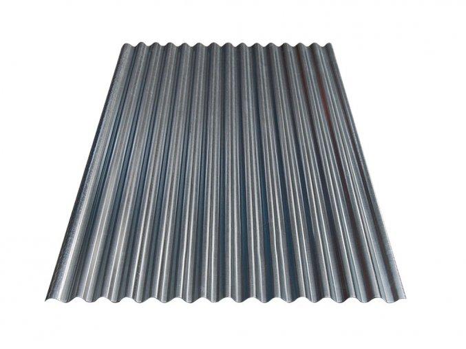 Vlnitý plech S18 - Pozink 0,4x883x2500 mm