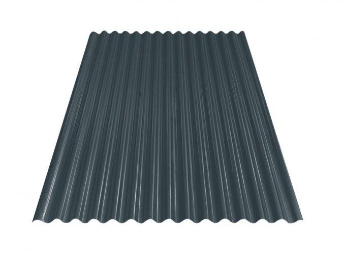 Vlnitý plech S18 - RAL 7016 (Antracit) 0,4x883x3000 mm