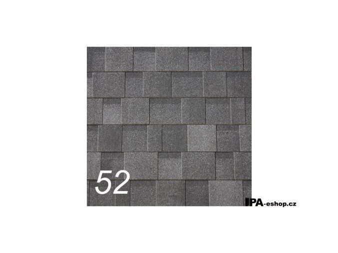IKO Cambridge Xpress asfaltový šindel 52 - Dual Black (3,1 m2/bal)