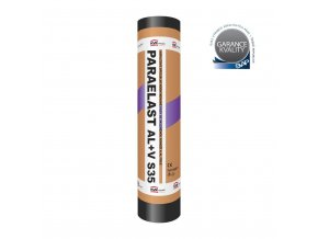 Asfaltový pás - Paraelast Al+V S35
