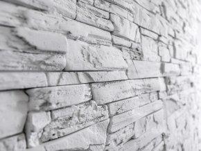 Kamenný obklad FASÁDA  světle šedá 530x145x25 mm Beton balení 0,46m2