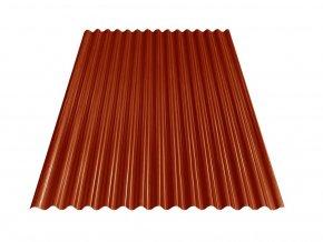 Vlnitý plech S18 - RAL 3009 (Oxidovaná červená) 0,4x883x2000 mm