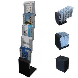 Mobilní skládací stojany na katalogy