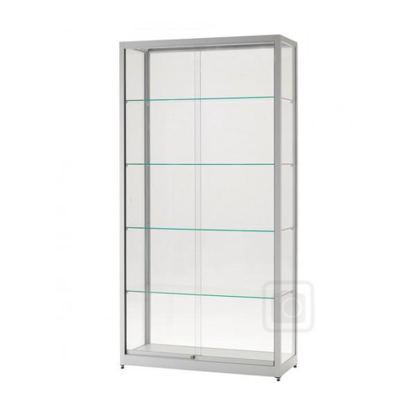 Skleněné vitríny bez osvětlení