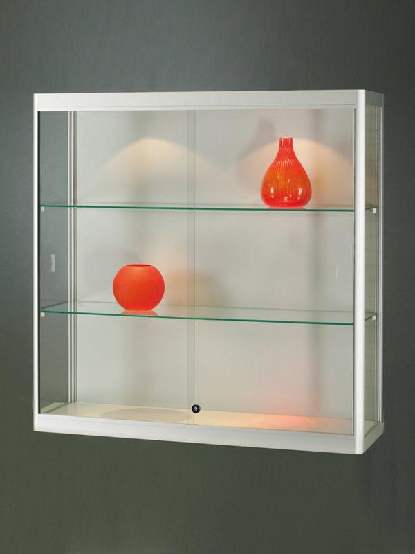 Skleněné vitríny nástěnné