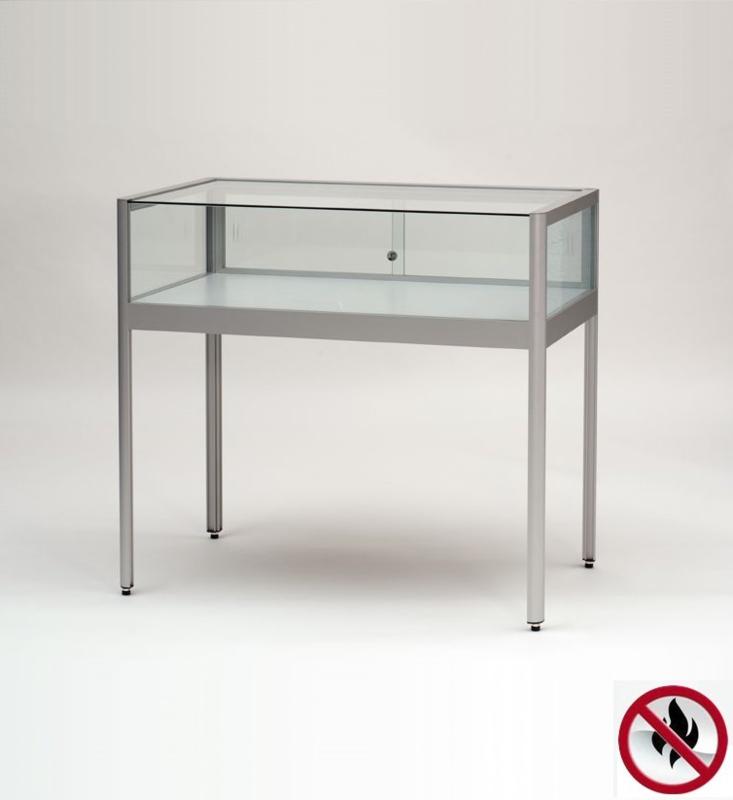 Skleněné vitríny stolní a pultové