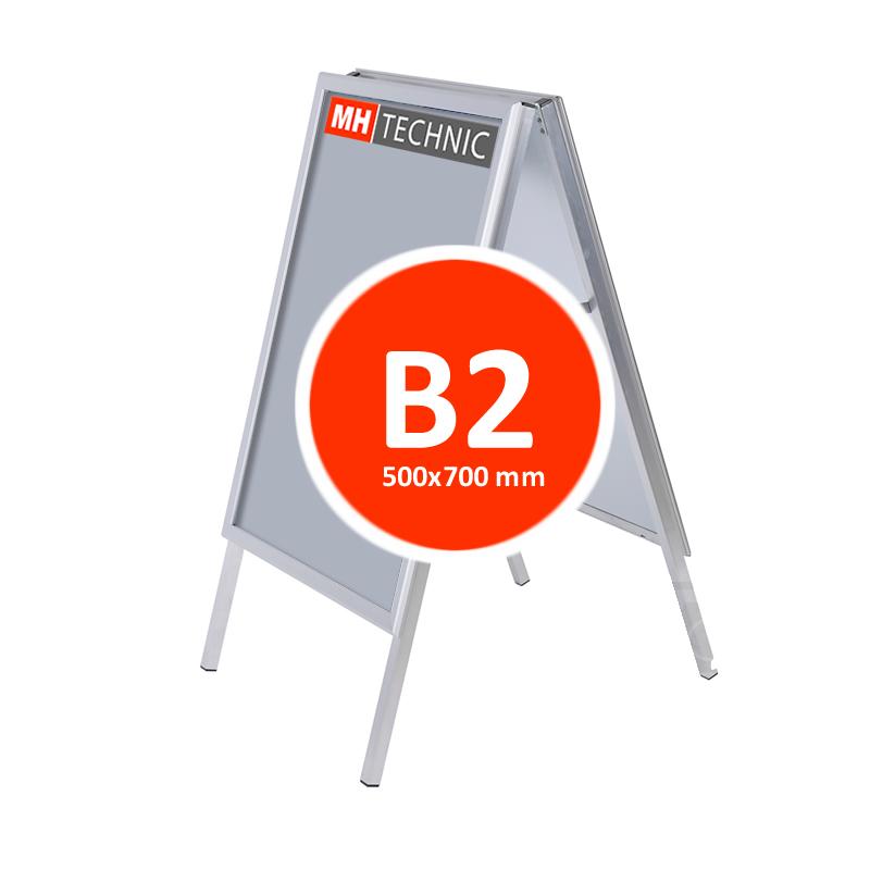 Reklamní áčko B2 (500x700 mm)