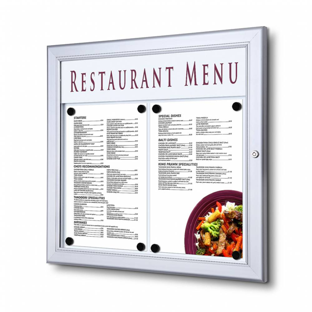 Venkovní menu vitrína SC Z
