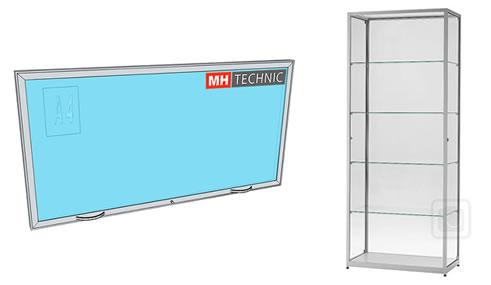 Informační a produktové vitríny