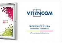 Vitincom informační hliníkové vitríny