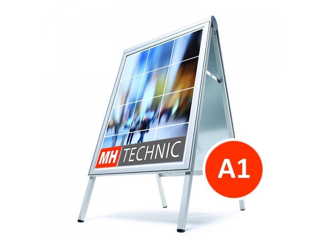 Reklamní poutač A1, design Compasso