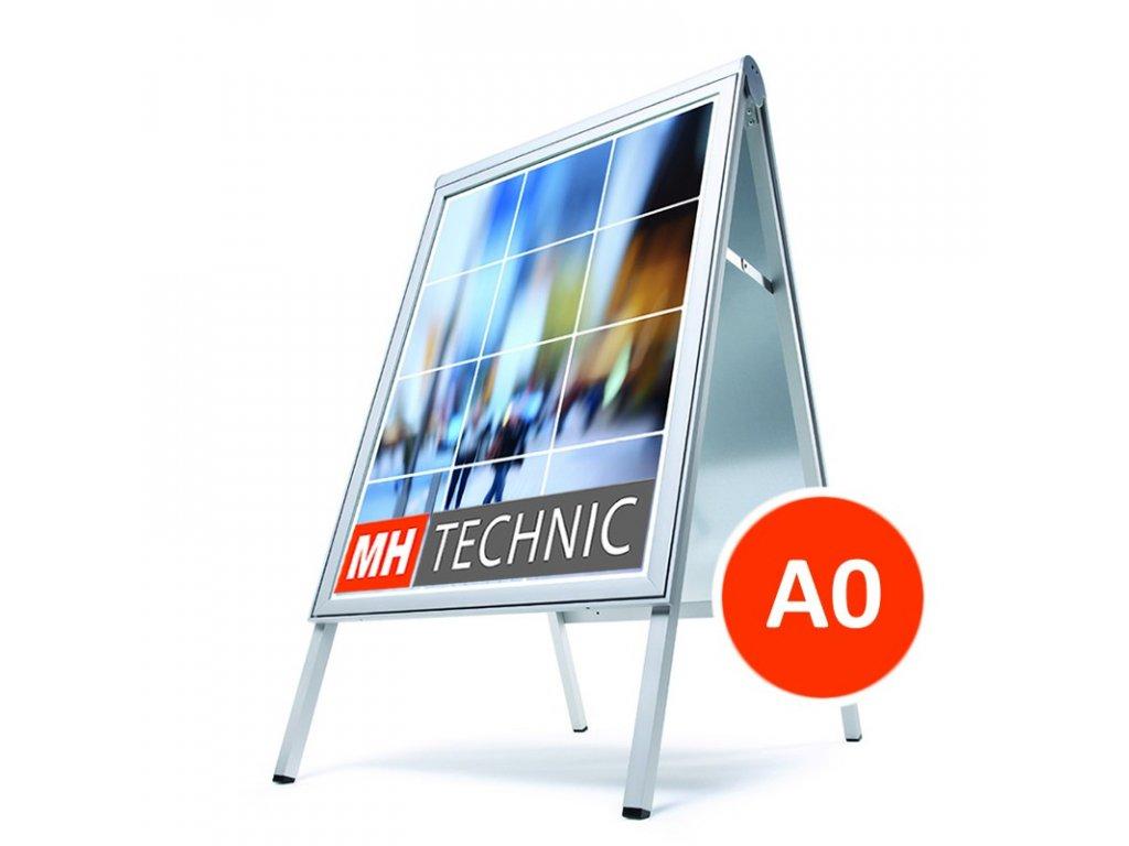 Reklamní poutač A0, design Compasso