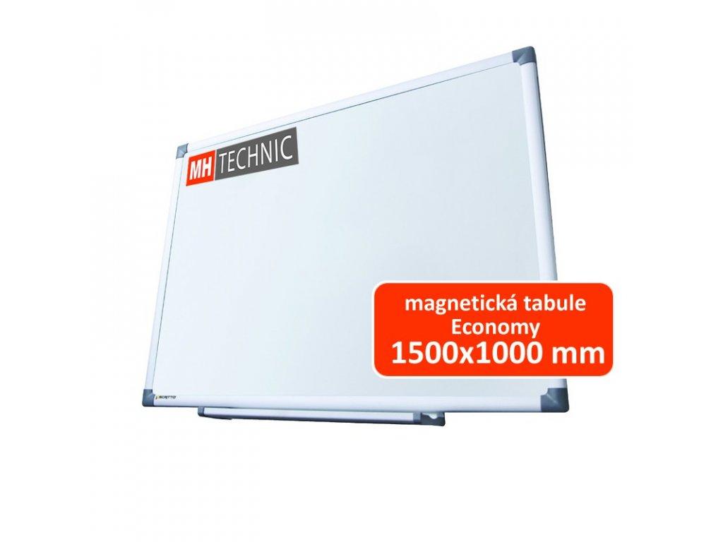 Magnetická tabule Economy 1500x1000 mm