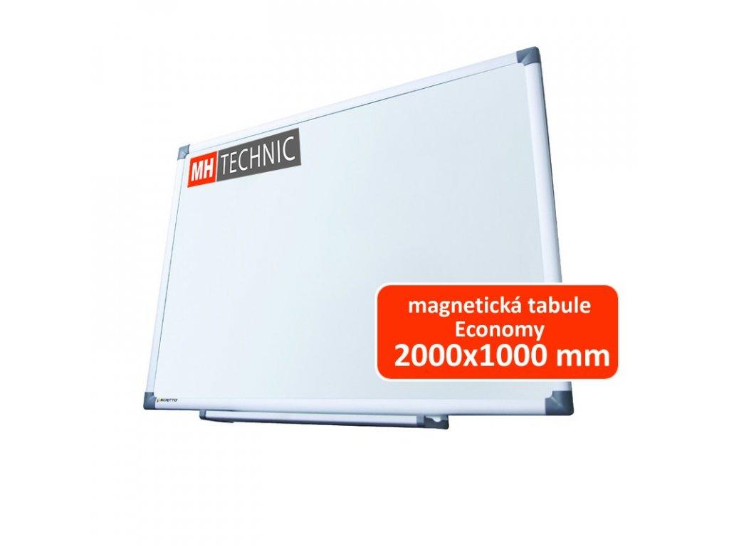 Magnetická tabule Economy 2000x1000 mm