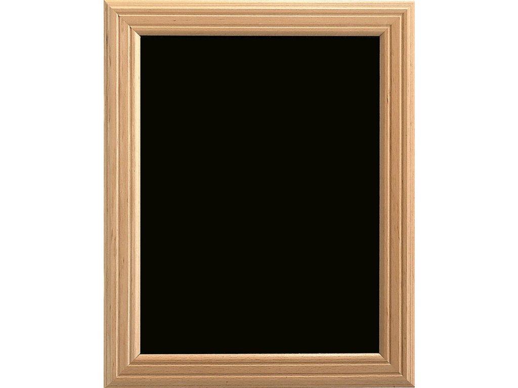 Dřevěná reklamní tabule Premium, 70x90 cm, přírodní