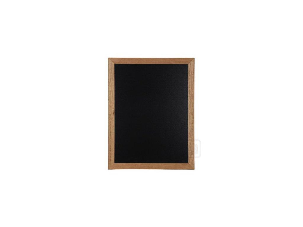 Dřevěná reklamní tabule Premium, 70x90 cm, teak