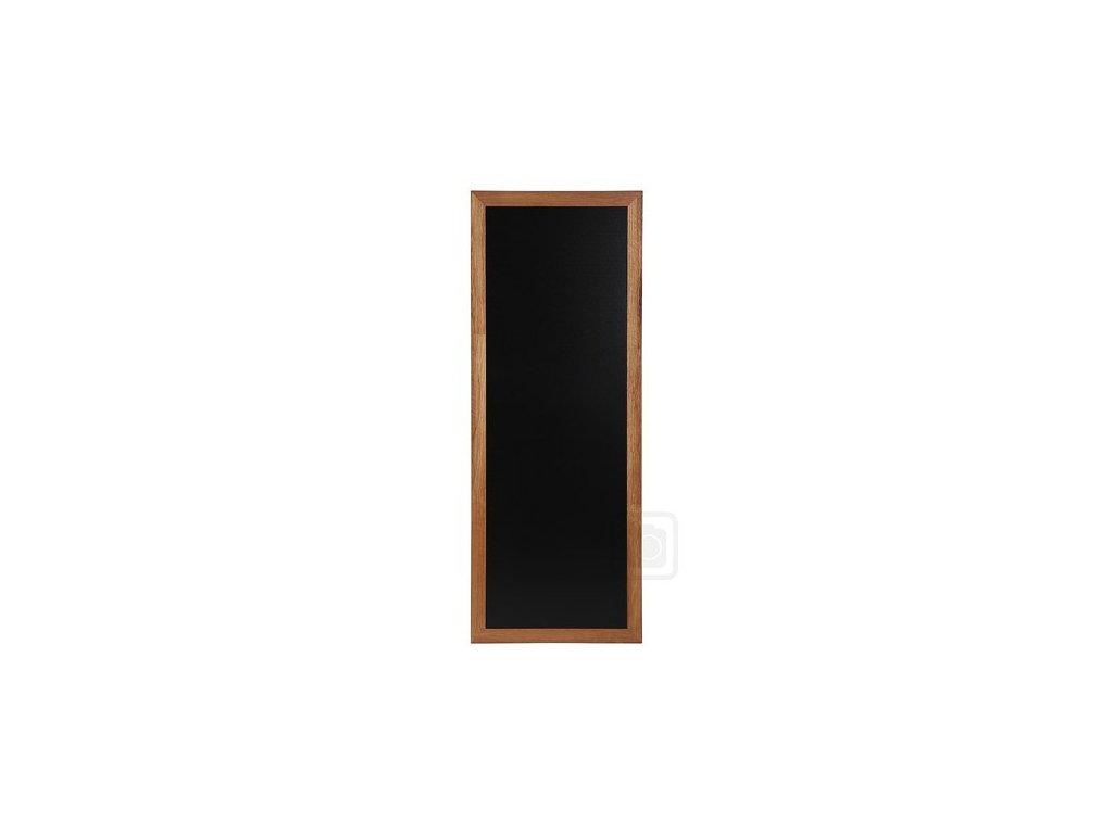 Dřevěná reklamní tabule Premium Long, 56x150 cm, teak