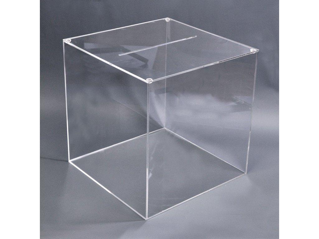 Losovací box 300x300x300 mm, odnímatelné víko