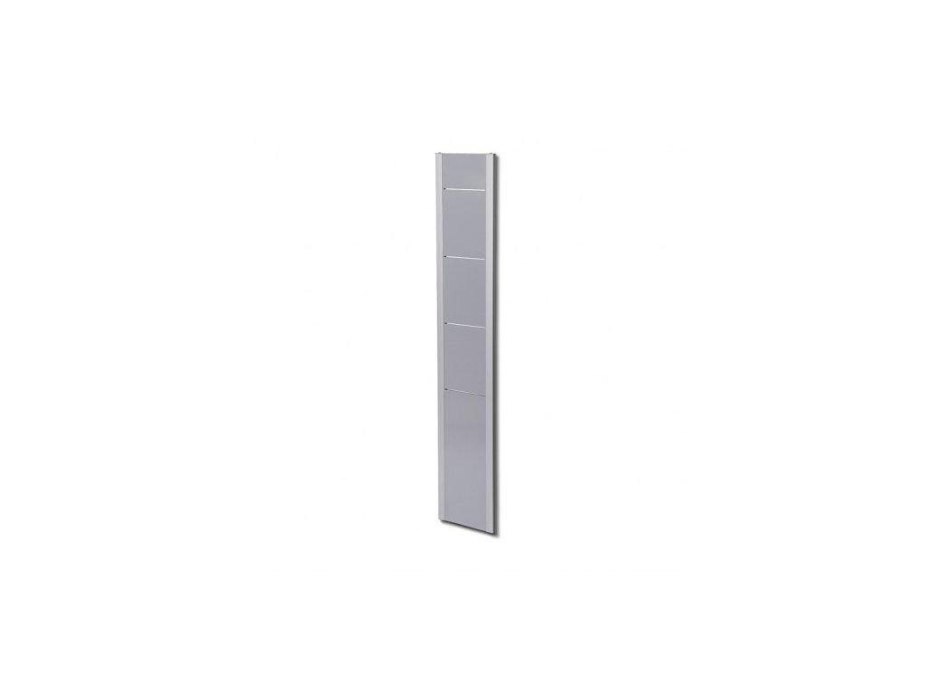 Designový letákový nástěnný stojan BRW, stříbrný