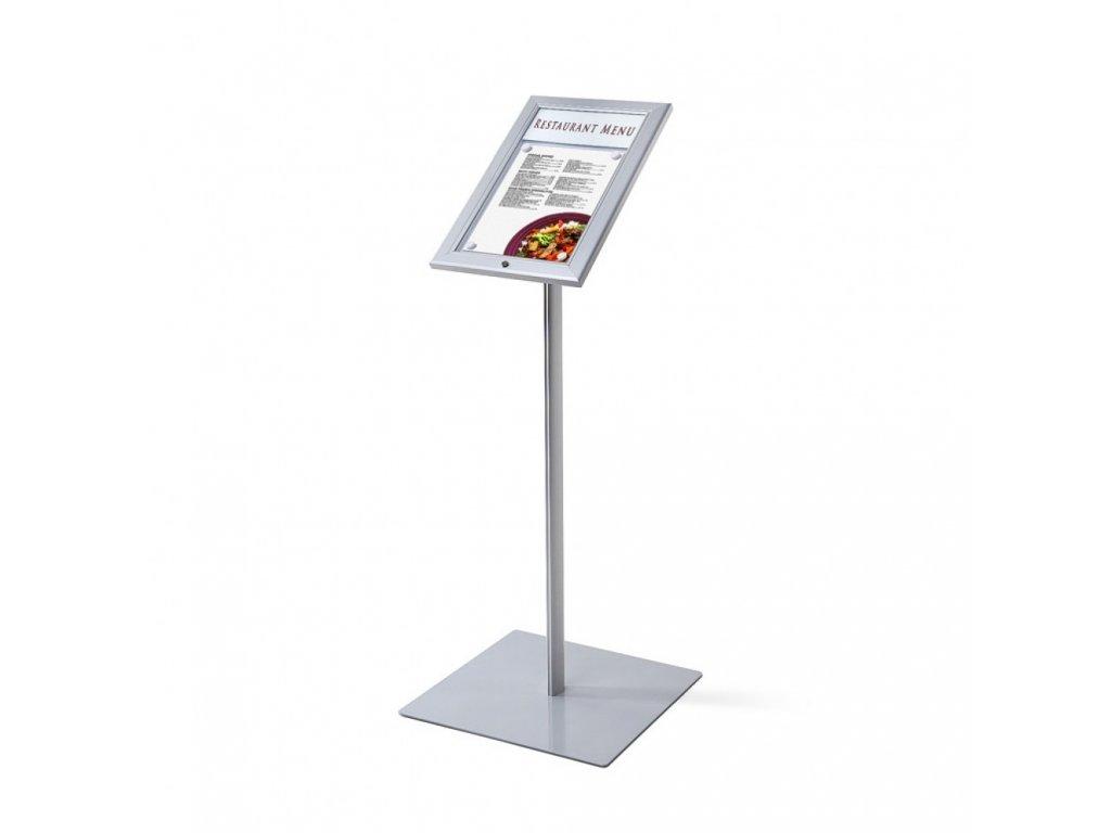Venkovní menu stojan 1xA4, LED osvětlení MBSCZ1xA4LED
