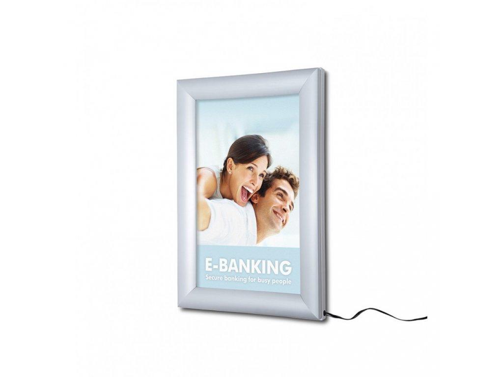 LED světelný rám, A4, laser-dotting PLEDA4G30