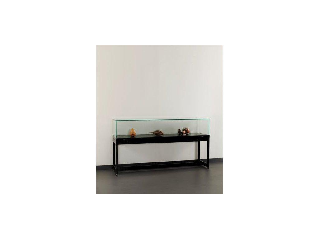 Pultová vitrína s výklopným sklem 1500x920x600 mm