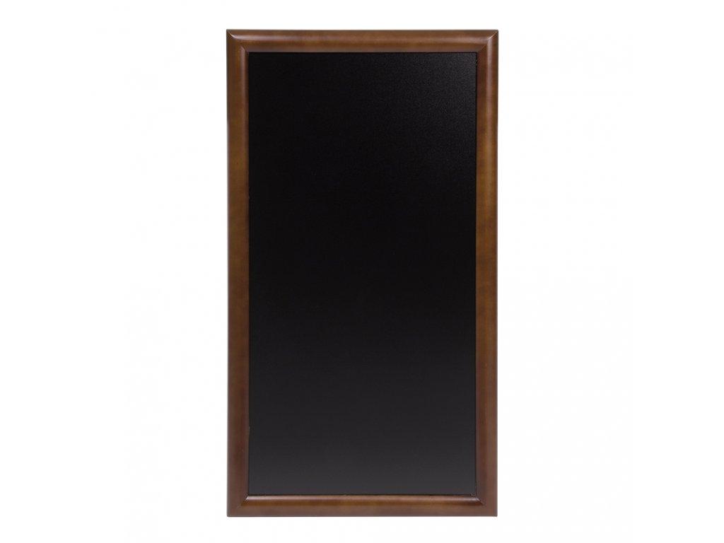 Křídová reklamní tabule Long, tvrdé dřevo (Barva tmavě hnědá, Rozměr 56 x 100 cm)