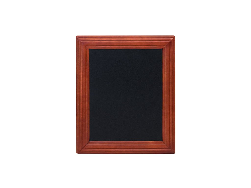Křídová reklamní tabule Universal, tvrdé dřevo (Barva přírodní, Rozměr 30 x 40 cm)