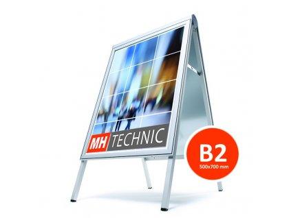 Reklamní poutač 500x700 mm (B2), design Compasso