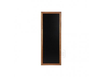 Dřevěná reklamní tabule Premium Long, 56x120 cm, teak