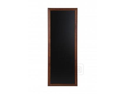 Dřevěná reklamní tabule Premium Long, 56x120 cm, tmavě hnědá
