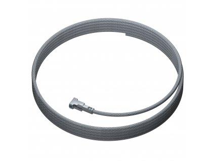 Ocelové lanko s kotvou Twister, 5 metrů AR.060.029 09.33500