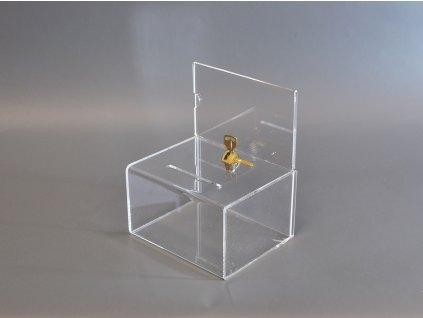 Losovací box s top kartou, uzamykatelný