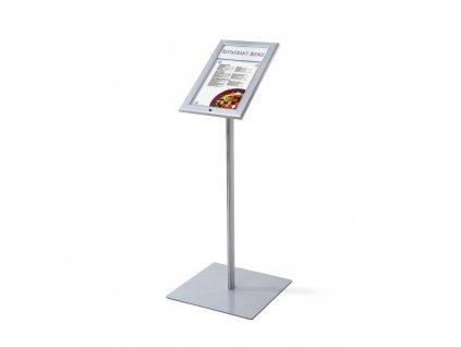 Venkovní menu stojan 1xA4 MBSCZ1xA4LED