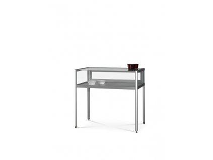 Prachotěsná stolní prosklená vitrína 1000x920x600 mm