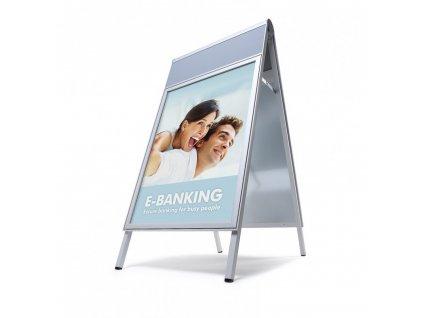 ZPC1A0 Reklamní áčko A0 s panelem, COMPASSO® C1