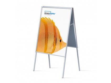 ZP70x100G20 Interiérové reklamní áčko 700x1000 mm (B1), ostrý roh, profil 20mm