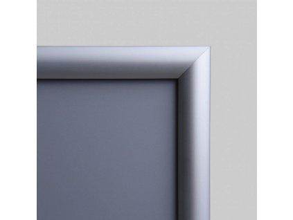 Klaprám A0, ostrý roh, profil 25 mm