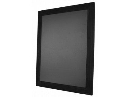 Dřevěná reklamní tabule Premium, 40x50 cm, černá