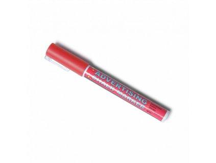 Křídový popisovač - červený (3mm) CHMARK3RED