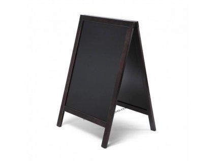 Dřevěné áčko ekonomické 55x85, černé ZPCHBEBL55x85