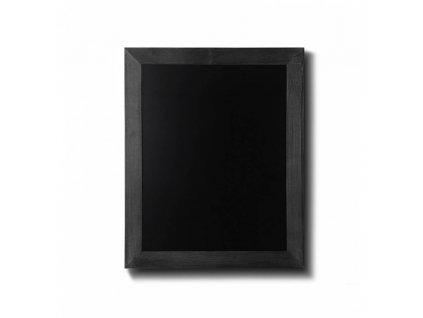 Dřevěná tabule 40x50, černá CHBBL40x50