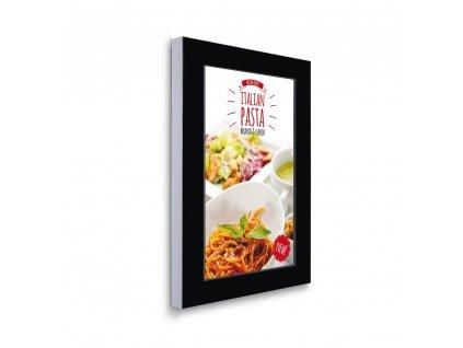 """Digitální panel na zeď s monitorem Samsung 43"""", černý DSIBWALL43ESF"""