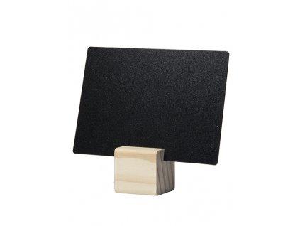 Dřevěné stojánky na tabulky TAG, 6 kusů, 6 tabulek A7 a 1 popisovač TAG-HLD-TE