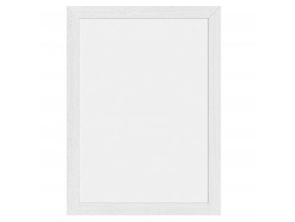 Křídová reklamní tabule bílá Woody White, bílý rám 30 x 40 cm, měkké dřevo WBW-WT-30-40