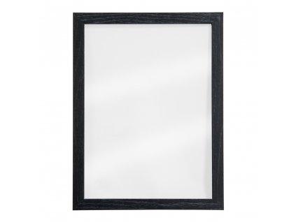 Křídová reklamní tabule transparentní Woody Transparent 40x30 cm, měkké dřevo WBW-GL-BL-40