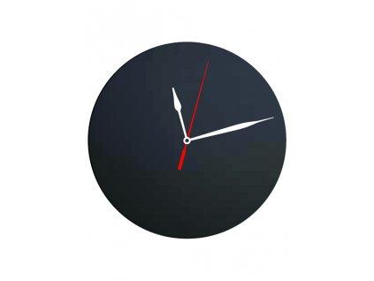 Nástěnné křídová tabule Silhouette s hodinami FB-CLOCK