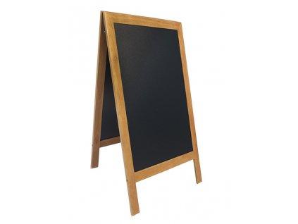 Reklamní poutač Premium 120x70 cm, tvrdé dřevo (Barva tmavě hnědá)