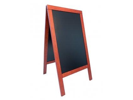 Reklamní poutač Premium 138x70 cm, tvrdé dřevo (Barva přírodní)