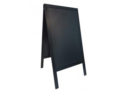 Reklamní poutač křídový Woody 125x70, černý SBS-BL-120